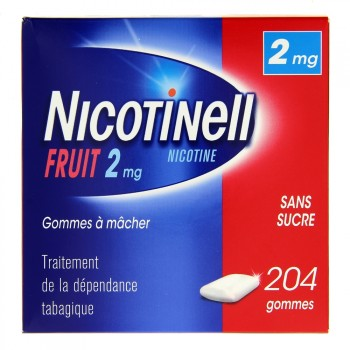 Nicotinell Fruit 2mg 204 gommes