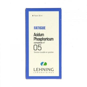 Acidum Phosphoricum complexe n°5 Lehning