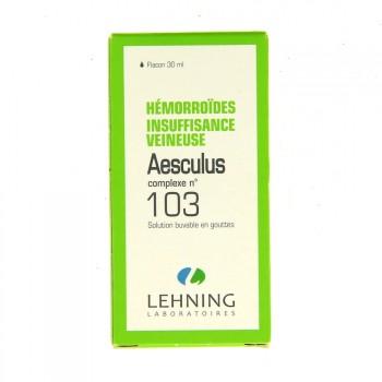 Aesculus Complexe n°103 Lehning
