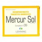 Mercurius complexe n°39 Lehning