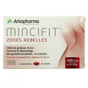 Mincifit Zones rebelles x60 capsules