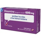 Diosmine Biogaran 600mg 30cpr