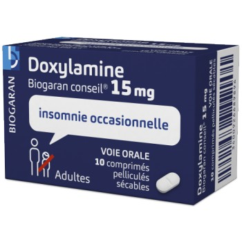 Doxylamine Biogaran 15mg 10cpr
