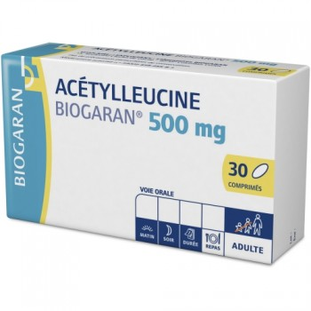 Acetylleucine Biogaran 500mg 30cpr