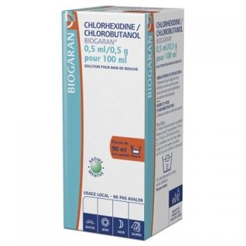 Chlorhexidine/Chlorobutanol Biogaran 90ml