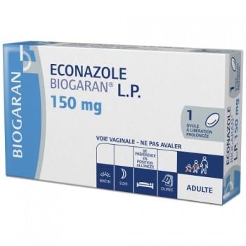Econazole Biogaran LP 150mg Ovule x1
