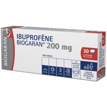 Ibuprofène Biogaran 200mg 30cpr