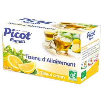 Tisane d'allaitement Citron Picot x20
