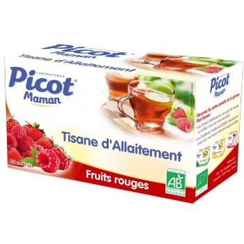 Tisane d'allaitement Fruits rouges Picot x20