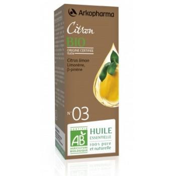 Huile essentielle Citron Bio 10ml Arkopharma