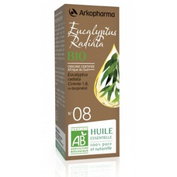 Huile essentielle Eucalyptus radiata Bio 10ml Arkopharma