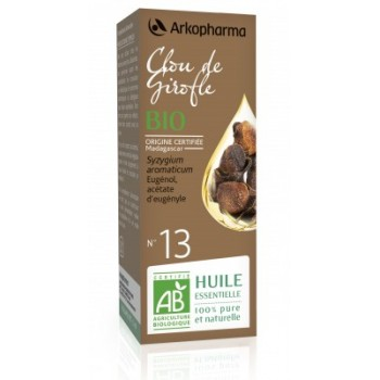 Huile essentielle Clou de Girofle Bio 5ml Arkopharma