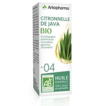 Huile essentielle Citronnelle de Java Bio 10ml Arkopharma