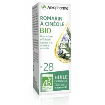 Huile essentielle Romarin à Cinéole Bio 10ml Arkopharma
