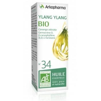 Huile essentielle Ylang-ylang Bio 5ml Arkopharma