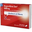 Ibuprofène Set 400mg x12...