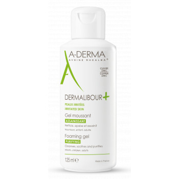 Dermalibour+ Gel moussant 125ml Aderma