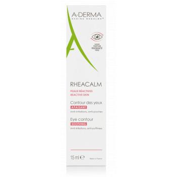 Rheacalm Crème contour des yeux apaisant 15ml Aderma
