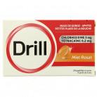 Drill  x24 pastilles Miel Rosat