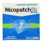 NicopatchLib 7mg Boîte de 7 patchs