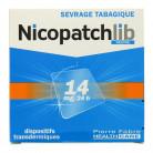 NicopatchLib 14mg Boîte de 7 patchs