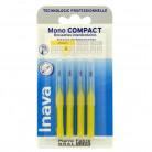 Brossettes Mono compact Jaune x4...