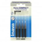 Brossettes Mono compact Noir x4...