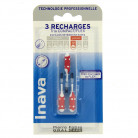 3 Recharges inter-dentaires Rouge Inava
