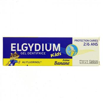 Elgydium Kids 2/6 ans Banane 50ml