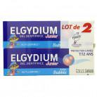 Elgydium Junior 7/12ans Bubble 2x50ml