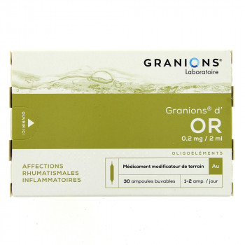 Granions d'Or x30 ampoules
