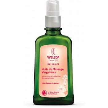 Huile de massage vergetures 100ml Weleda