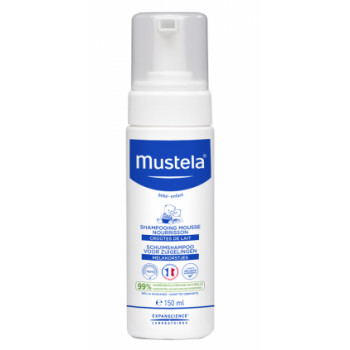 Shampooing mousse nourrisson 150ml Mustela