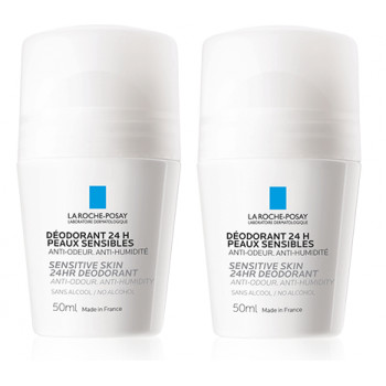 Déodorant physiologique Roll-on 2x50ml La Roche Posay