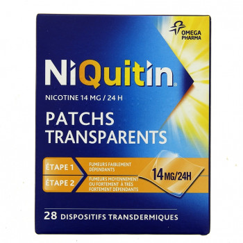 Niquitin 14mg x28 patchs