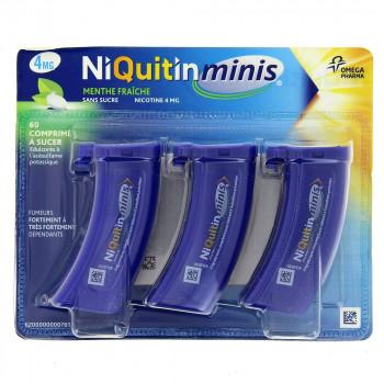 Niquitin Minis Menthe fraiche 4mg x60cp