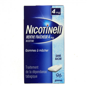 Nicotinell Menthe fraicheur 4mg 96gommes