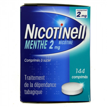 Nicotinell Menthe 2mg 144cpr