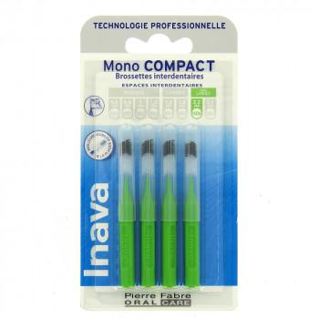 Brossettes Mono compact Vert x4 Inava