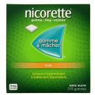 Nicorette 2mg fruits x210 Gommes