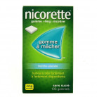 Nicorette 105 Gommes 4mg menthe...