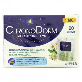 ChronoDorm Mélatonine 1mg x20 sachets - IPRAD