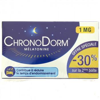 ChronoDorm Mélatonine 1mg 2x30cp