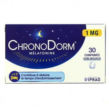 ChronoDorm Mélatonine 1mg x30cp