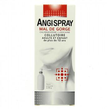 Angispray Mal de gorge collutoire 40g
