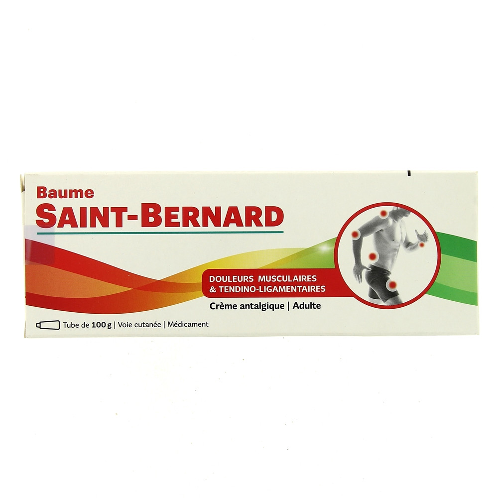 Caine Saint-Bernard de plus