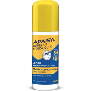 Apaisyl Répulsif moustiques Lotion protection quotidienne 90ml