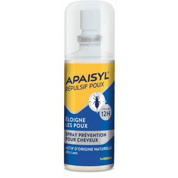 Apaisyl Répulsif Poux Spray prévention 90ml