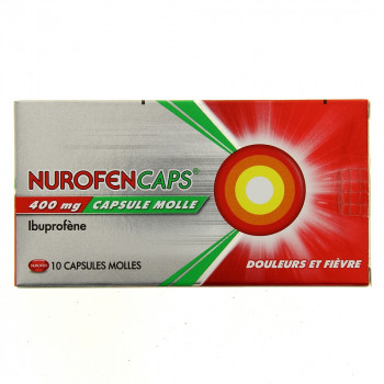 NurofenCaps 400mg 10Caps