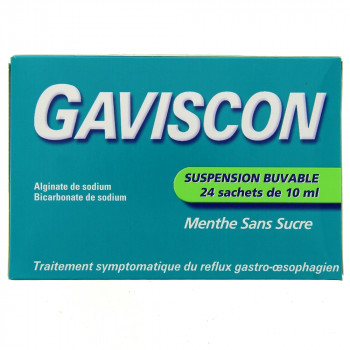 Gaviscon Suspension buvable x24 sachets